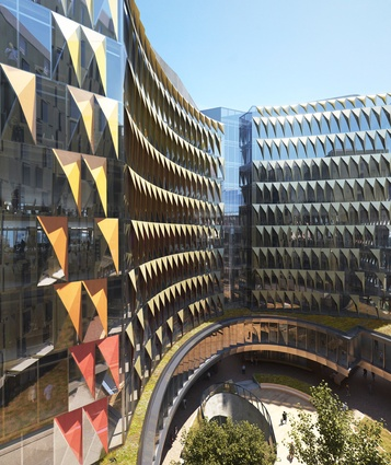 "The proposed Carlton Connect precinct by Woods Bagot will include an ""oculus"" and a publicly accessible open space in the centre."