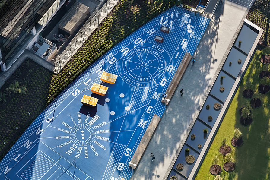 Monash University Caulfield Campus Green by Taylor Cullity Lethlean.