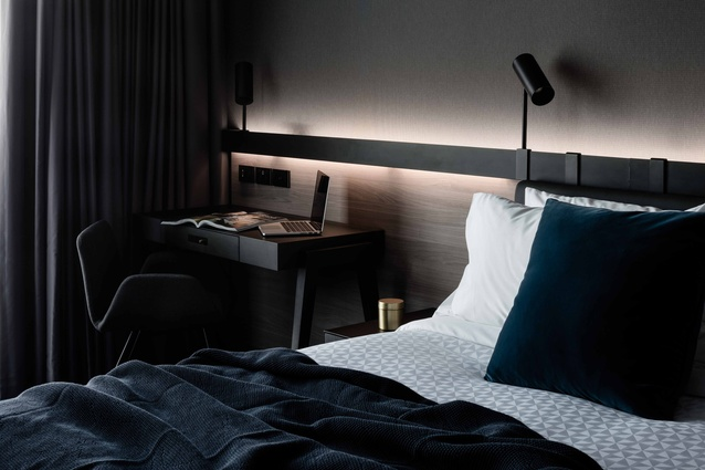 Four Points by Sheraton Docklands, designed by DKO.