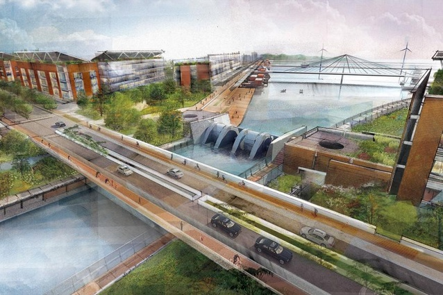 The Hydroelectric Canal by Paul Lukez Architecture.
