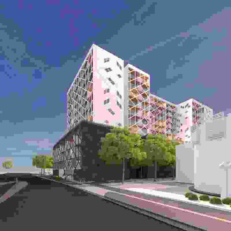 The $40m CHT Architects project on Salmon Street is the first building to be given approval in the Wirraway precinct.
