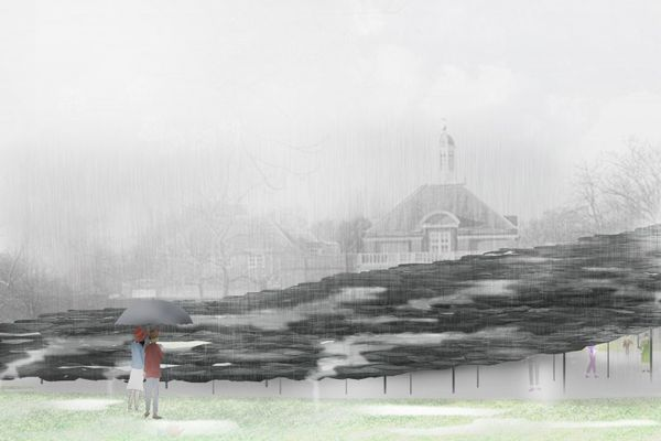 Serpentine Pavilion by Junya Ishigami.