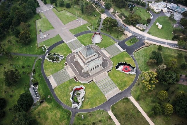 Shrine of Remembrance, Galleries of Remembrance by ARM Architecture.