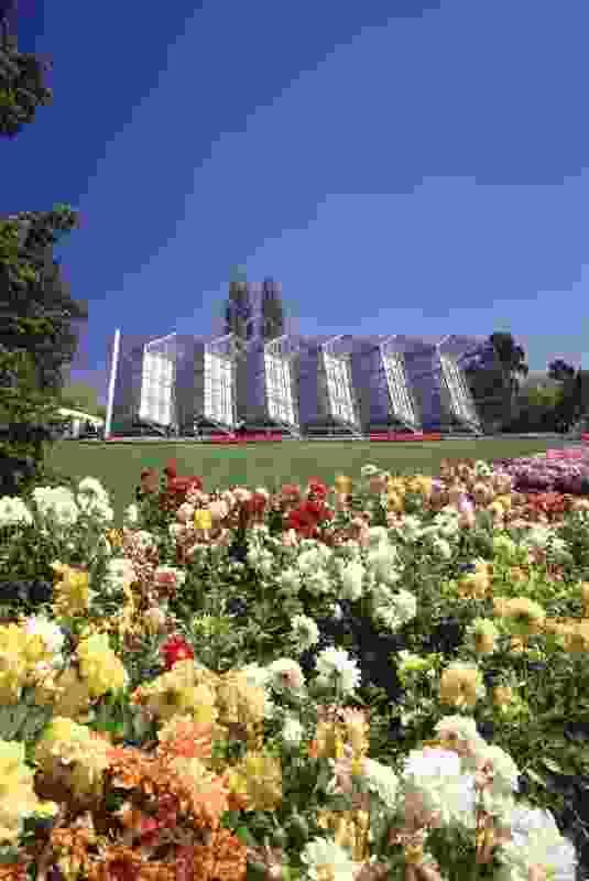 Robert Clark Horticultural Centre, Ballarat, by Peter Elliott Architects.