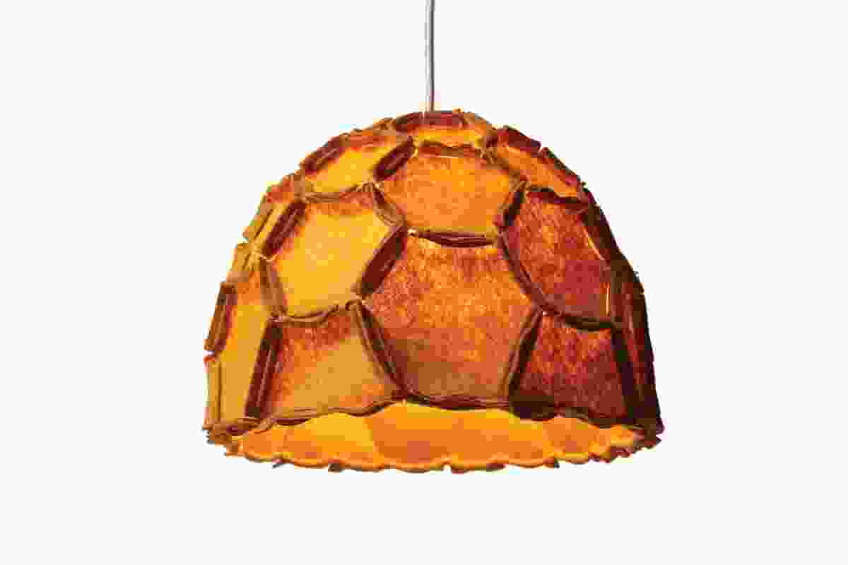 Designed by Rebecca Asquith of New Zealand-based Designtree, Nectar is made of honeycomb-shaped felted polyester.