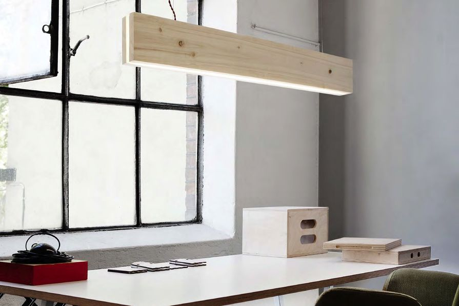 Plank is suitable for task lighting.