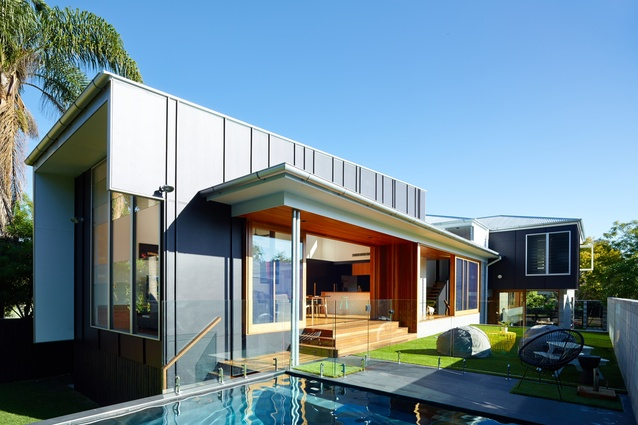 The Terraced House by Shaun Lockyer Architects.