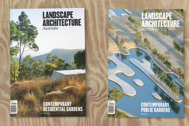 Landscape Architecture Australia issues 142 and 143.