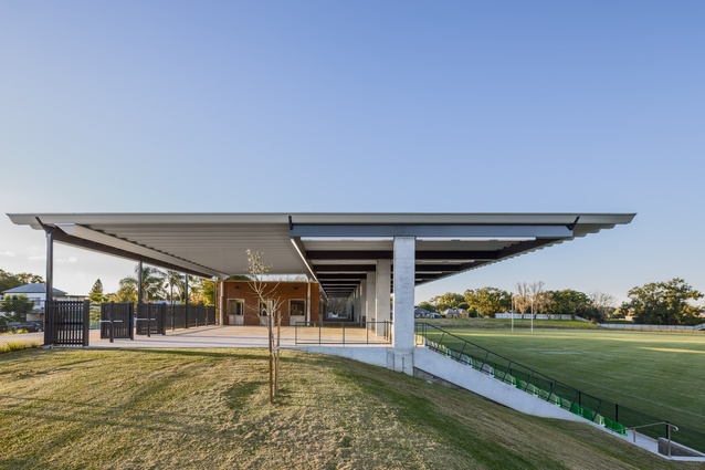 Maitland No. 1 Sportsground by Maitland City Council in association with the NSW Government Architect's Office and CKDS.