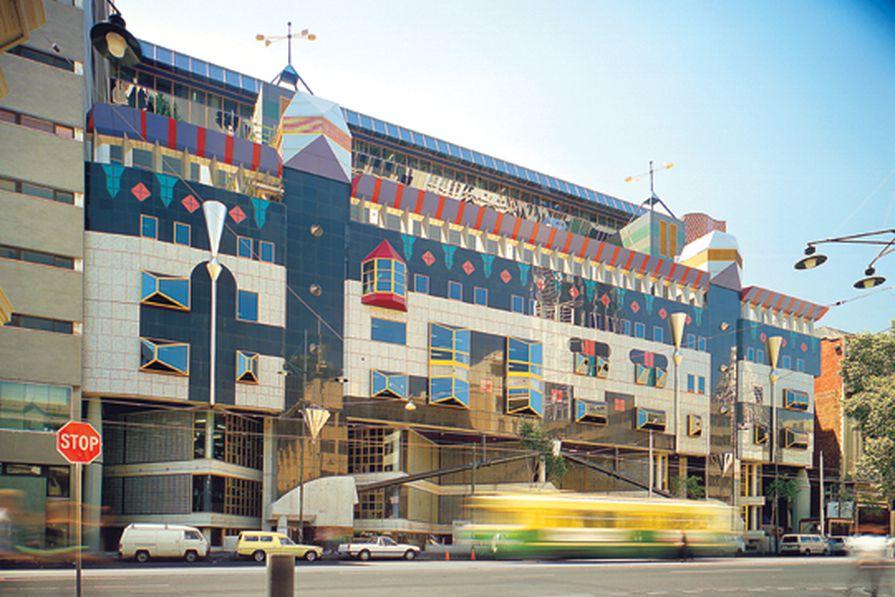 Building 8, RMIT University, Melbourne by Edmond and Corrigan, 1991–95.
