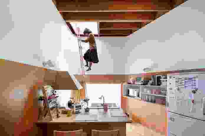 Akishima House by Taira Nishizawa Architects.