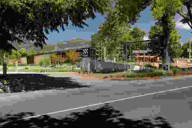 Marysville 16 Hour Police Station by Kerstin Thompson Architects.