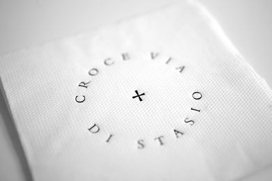 Bar Di Stasio visual identity.