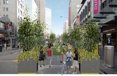 Pop-up park to brighten Melbourne's CBD, with permanent park delayed