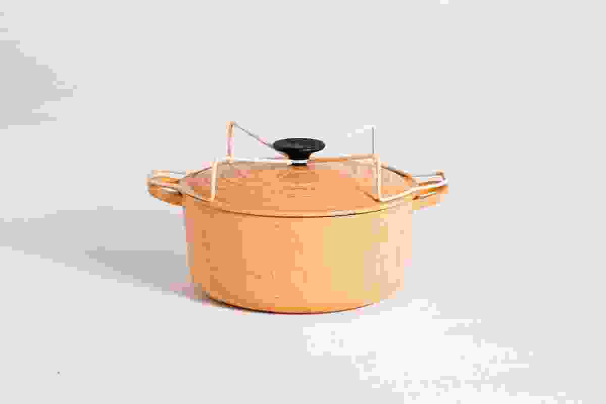 From things revisitedWilson's Le Creuset pot lid now allows the upturned lid to serves as a stand.