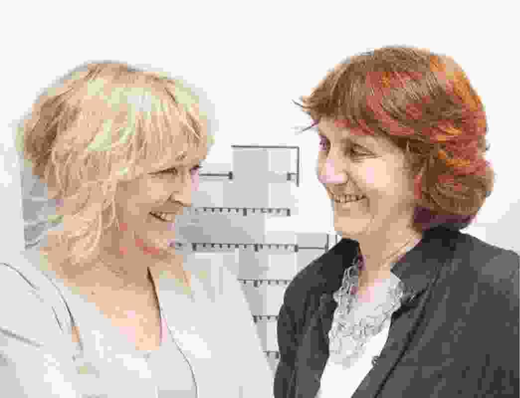 Yvonne Farrell and Shelley McNamara.