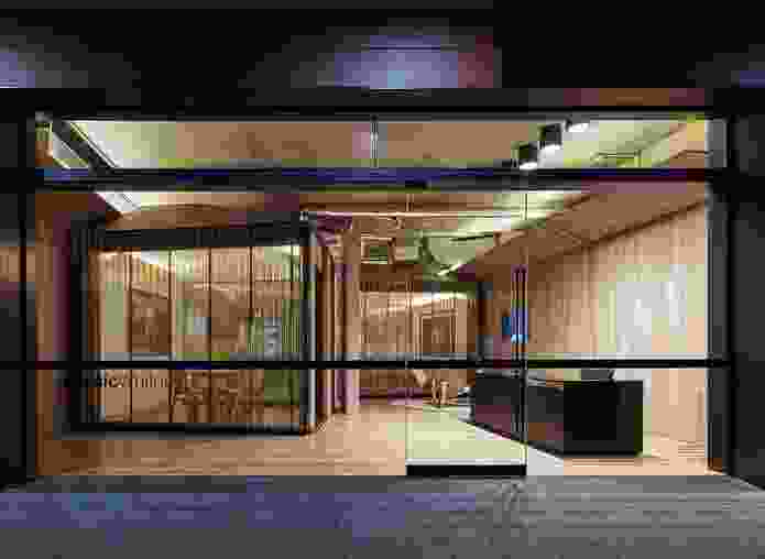 """The clients describe the sculptural office as """"very much an art piece in itself."""""""