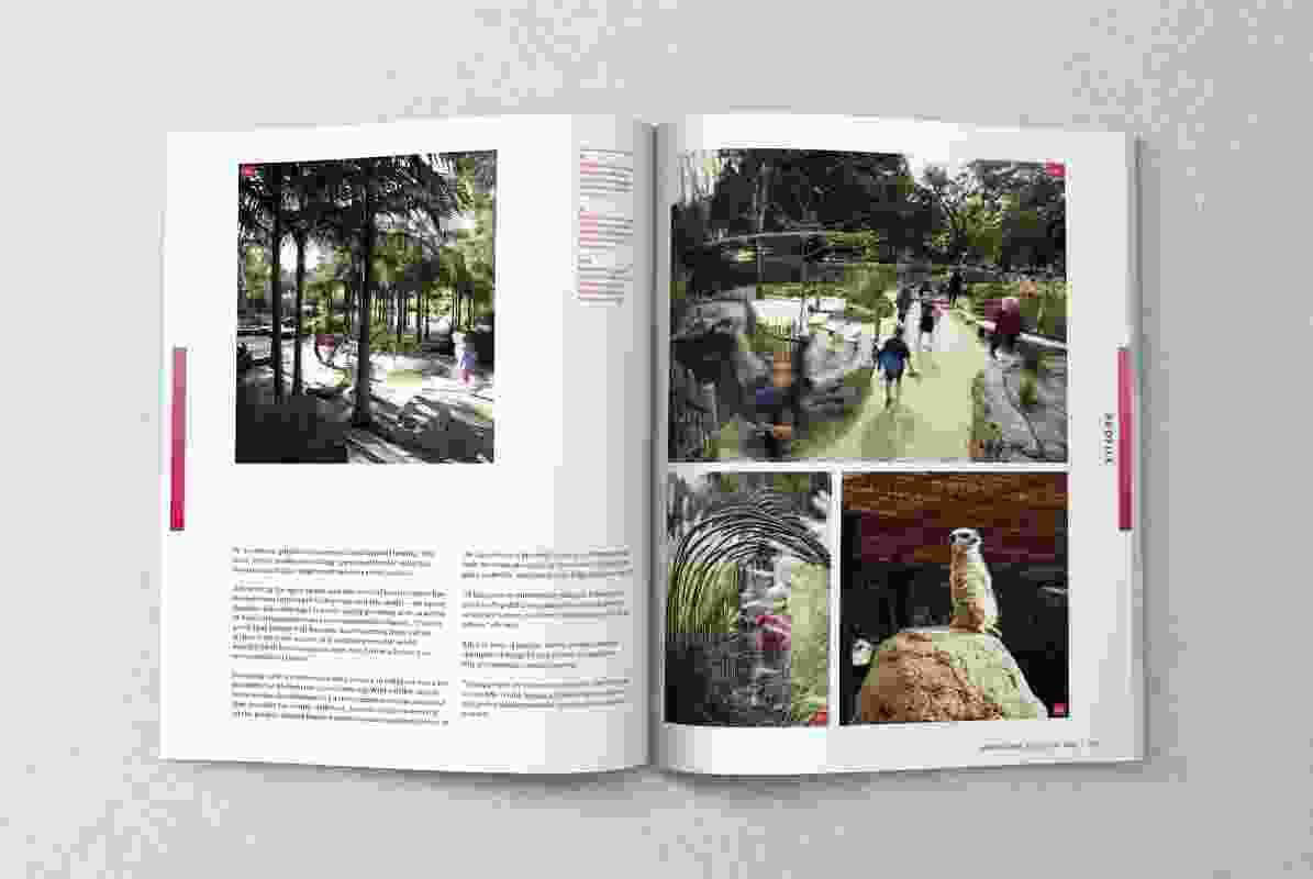 A spread from the May 2020 issue of Landscape Architecture Australia.