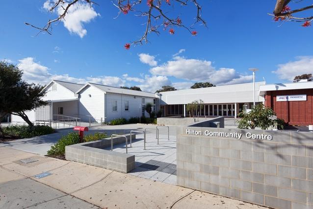 Hilton Community Centre by Bernard Seeber.