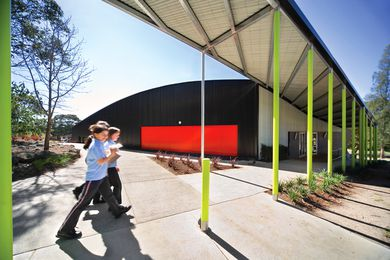 A multipurpose hall at Templestowe Park Primary School (2004) marked the beginning of MCR's suite of education buildings.