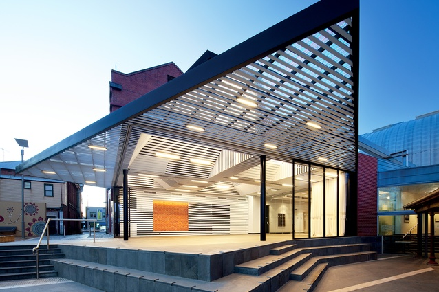 Searle x Waldron Architecture's first built project, the Annexe at the Art Gallery of Ballarat (2011), was commissioned as a result of a design competition.