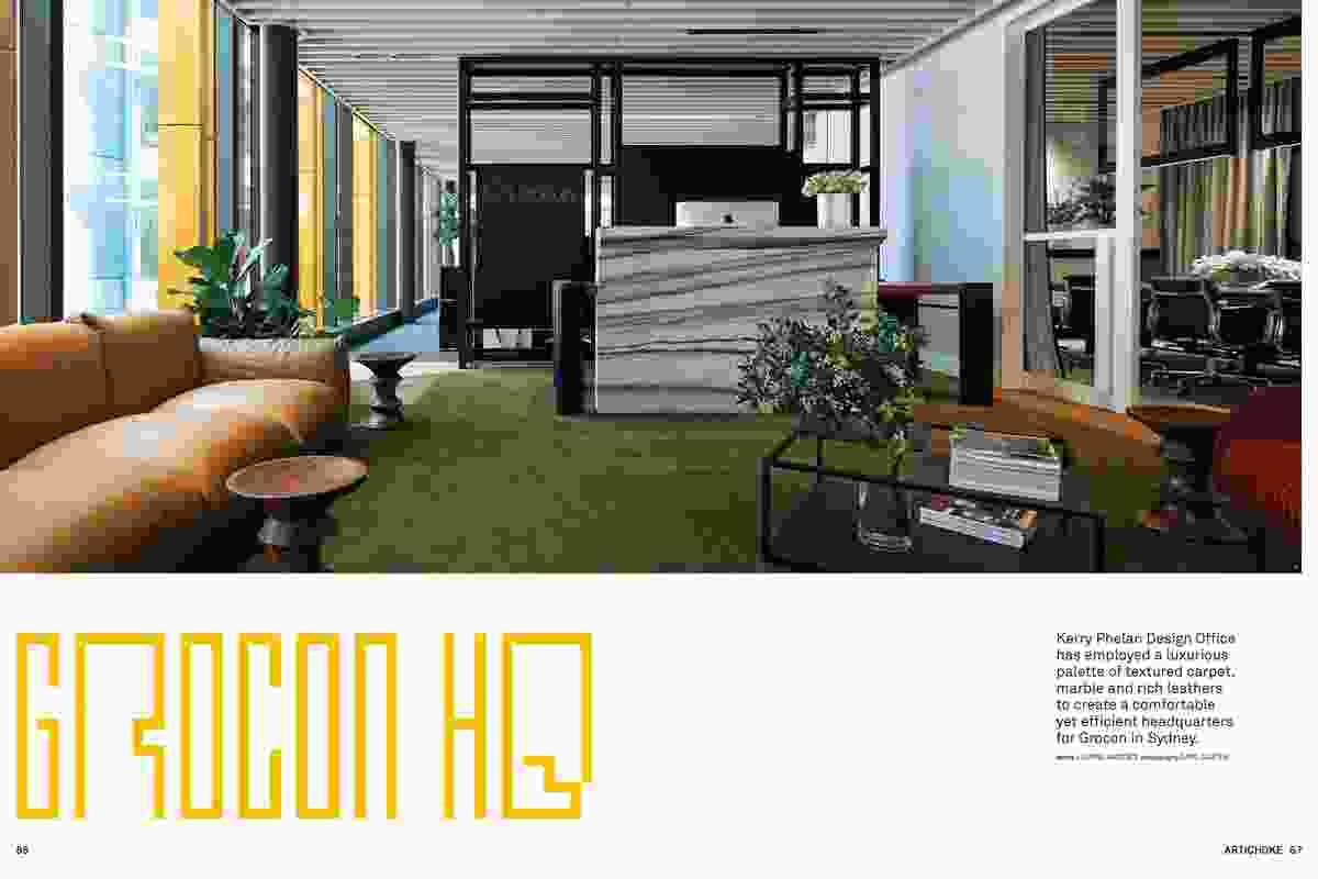 Grocon Headquarters by Kerry Phelan Design Office.