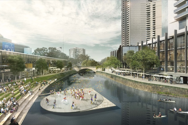 The $200 million reimagination of the Parramatta riverfront will take place alongside the $2 billion redevelopment of the main city square.