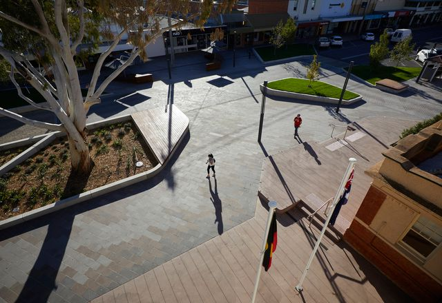 Victoria Square, Kerang by Hansen Partnership.