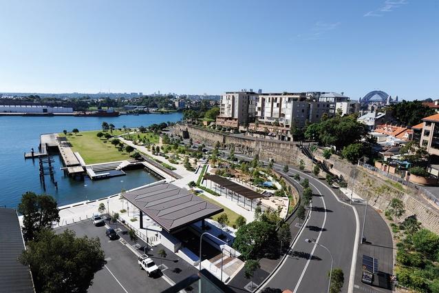 Pirrama Park by Aspect Studios, winner of 2012 National Landscape Architecture Award for design.