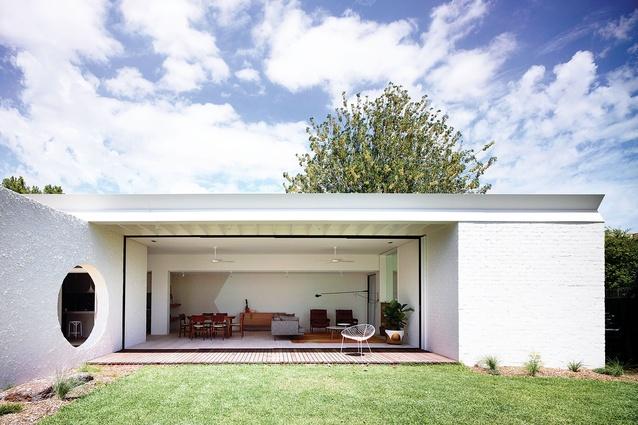 Westgarth House by Kennedy Nolan Architects.
