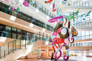The multi-award-winning Royal Children's Hospital by Billard Leece Partnership and Bates Smart.