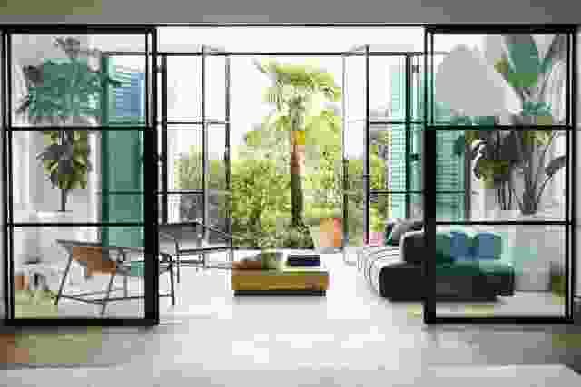 Peppertree别墅由Luigi Rosselli Architects和Alwill Interiors设计。