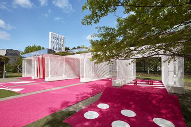 Haven't you always wanted…? by M@ STUDIO Architects for the 2016 NGV Architecture Commission.