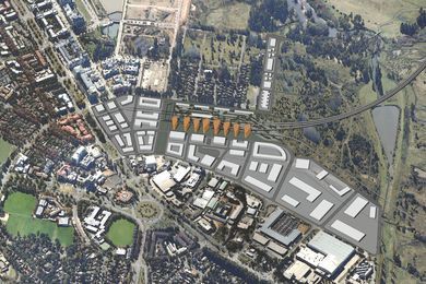 Periphery As Project – Re-conception of a train station in Canberra by Sarah J. Herbert.