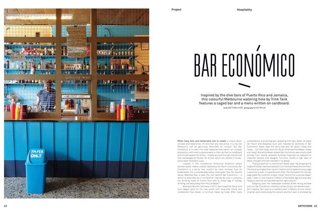 Bar Economico by Trink Tank.