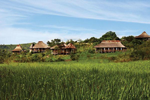Savannah Bandas 1–4, Kyambura Game Lodge, Uganda.