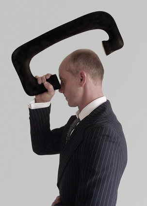 Part of The Other Hemisphere, Auto-Visor by Blakebrough + King is a device for looking at the back of your head.