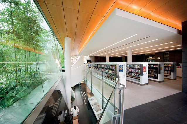 Surry hills library and community centre architectureau - Small spaces surry hills decor ...