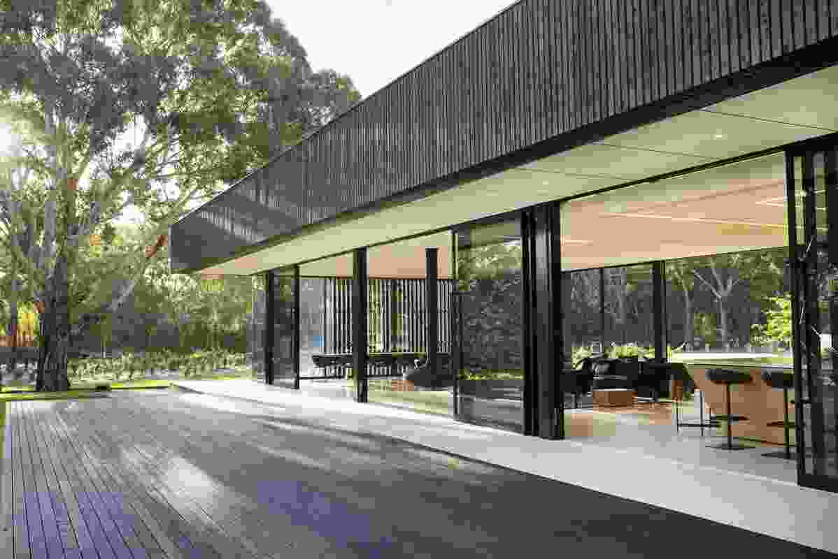 Beresford Wines Cellar Door & Tasting Pavilion by Alexander Brown Architects.