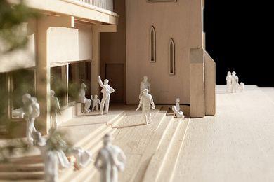 由Chrofi设计的Parramatta Mission模型。