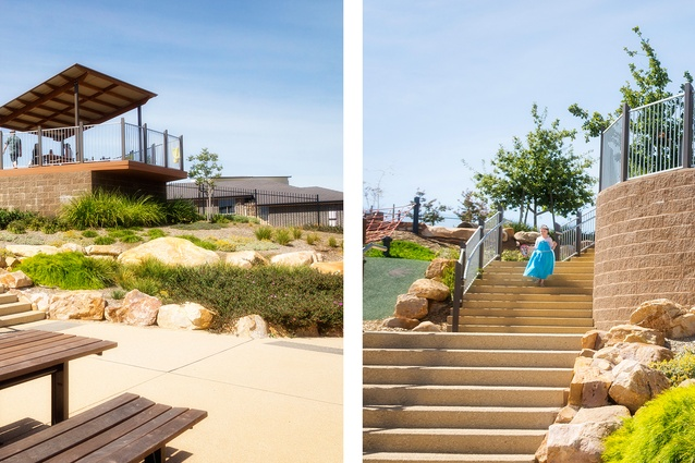 Central Reserve, Blackwood Park (SA) by Outerspace Landscape Architects.