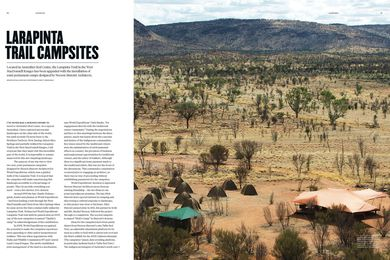 Larapinta Trail Campsites by Neeson Murcutt Architects.