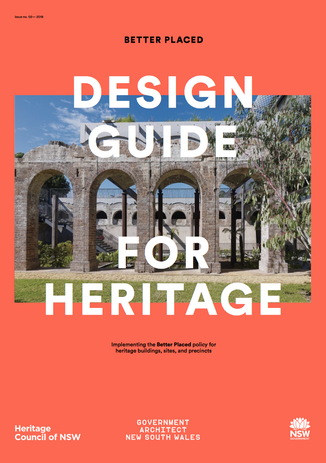 GANSW's Design Guide for Heritage.