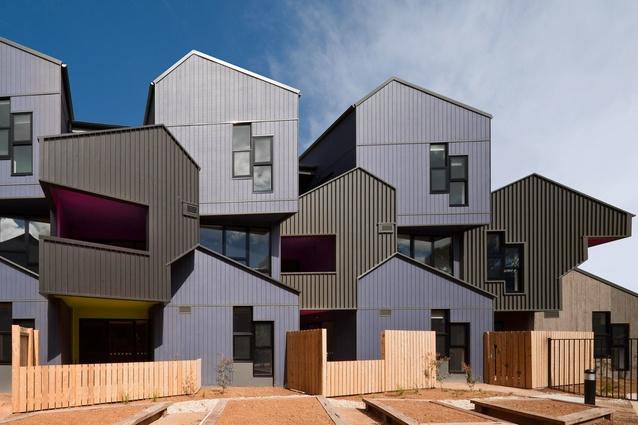 McIntyre Drive Social Housings, Altona by MGS Architects.
