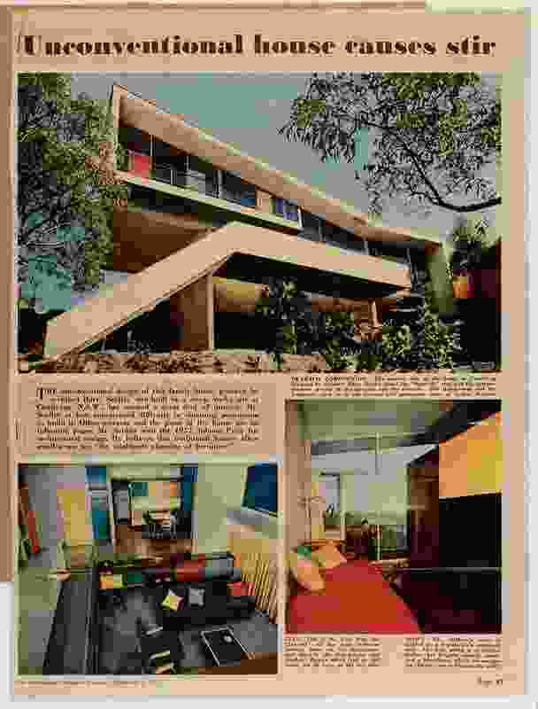 Meller House by Harry Seidler in Sydney.