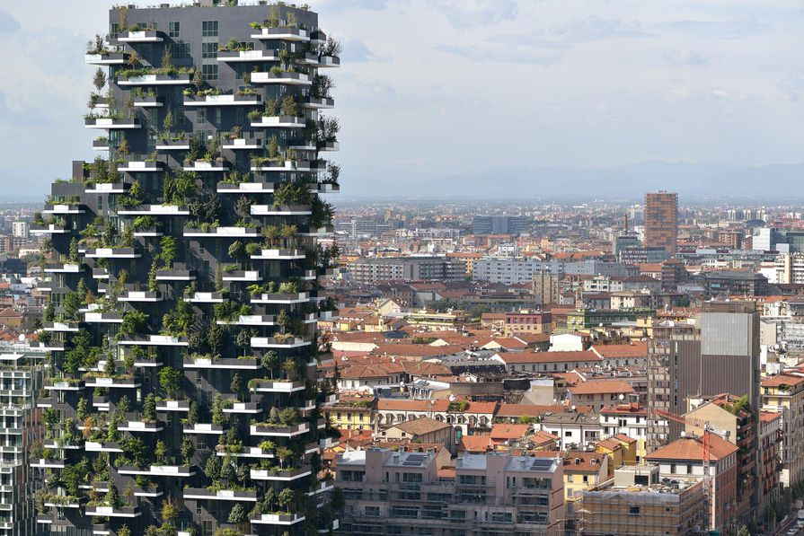 Bosco Verticale by Boeri Studio.