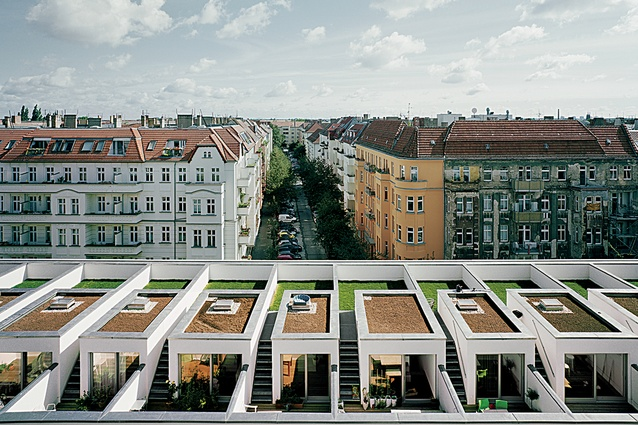 BIGyard Zelterstraße 5 by Zanderroth Architekten. The architecturally innovative and environmentally efficient Baugruppen collective housing model will be applied in two separate projects in Western Australia.