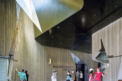 Waltzing Matilda Centre by Cox Architecture.