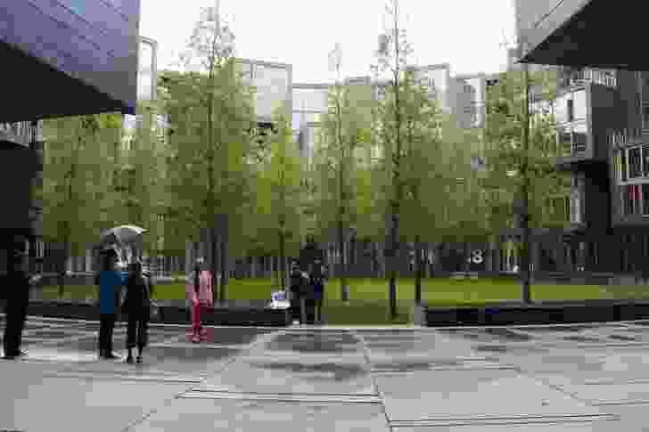 Tietgen College by Lundgaard and Tranberg Arkitekter, Ørestad, Copenhagen (2005).