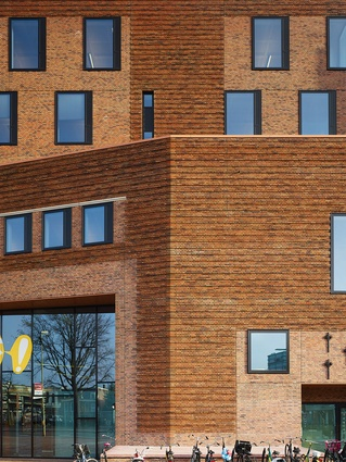 Dutch stipulations require buildings in heritage areas to use brick.